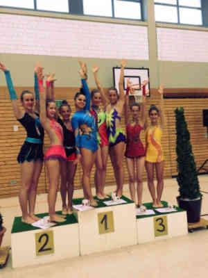Dreifach Sieg beim Regio-Cup Gymnastik