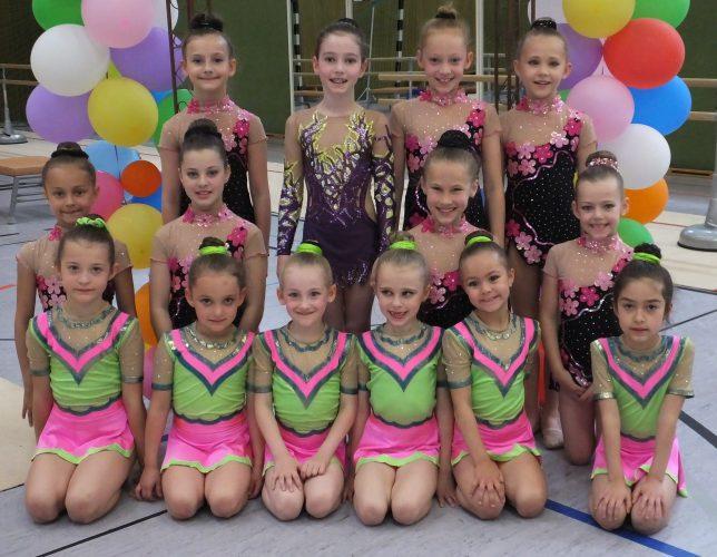 Alle Landestitel an Saarbrücker Gymnastinnen