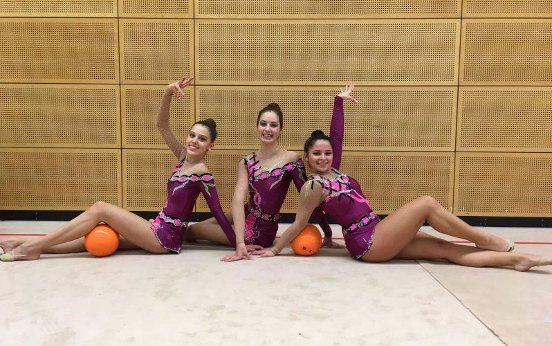 Doppelerfolg für die Gymnastinnen des TV Fechingen in Düsseldorf