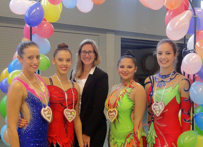 1. Lebkuchen-Cup 2017: Erfolgreicher Saisonstart für Fechinger Gymnastinnen der K-Stufen