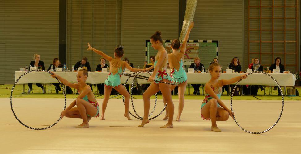 Erfolgreicher Saisonstart der Fechinger Gymnastinnen