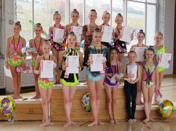 Saarlandmeisterschaft der Sportgymnastinnen
