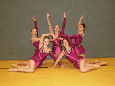 Erfolge für Gymnastinnen beim Felsenland-Cup