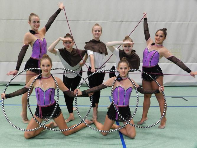 Bronzemedaille für Fechinger Gymnastinnen bei deutscher Jugendmeisterschaft Gymnastik&Tanz