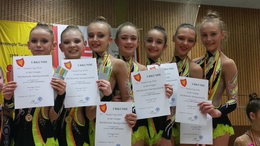 Erfolge beim Teenie-Cup in Frankenthal