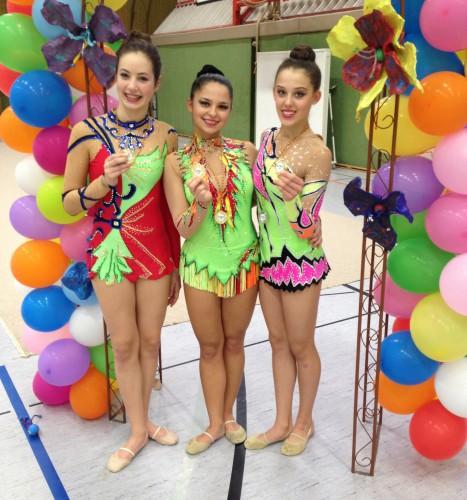 Erfolgreiche Landesmeisterschaft Gymnastik