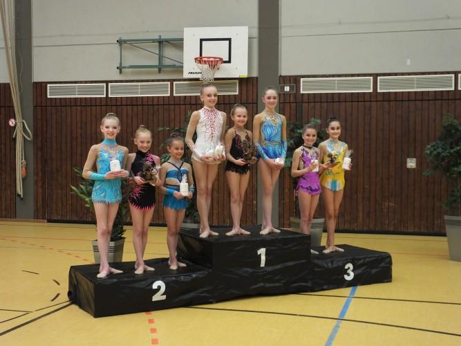 Turn-Talentschule Saarbrücken gewinnt Entscheidung bei den Schülerinnen