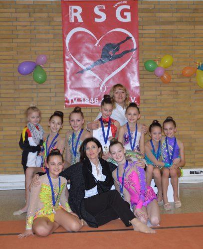 Zahlreiche Treppchenplatzierungen für Saarbrücker Sportgymnastinnen
