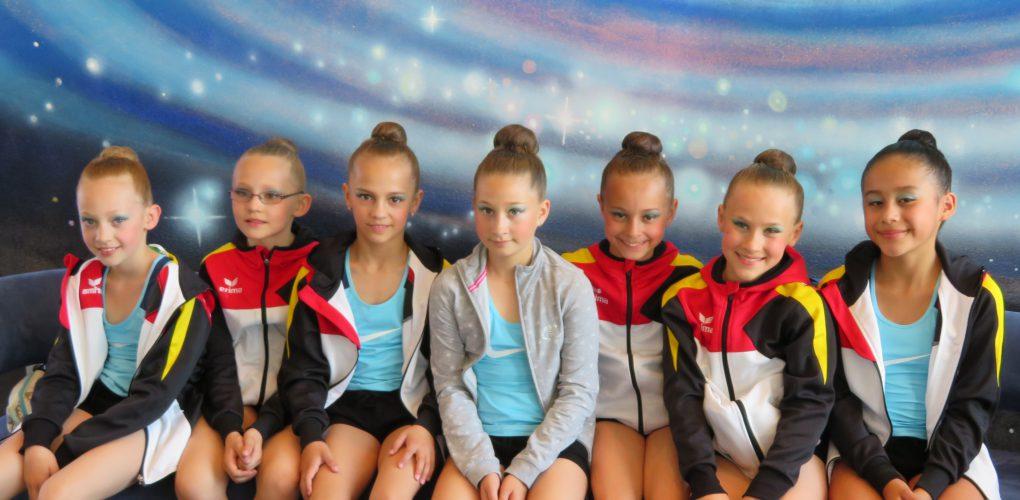 Rang 5 für Sportgymnastinnen bei Deutscher Schülermeisterschaft in Bremen