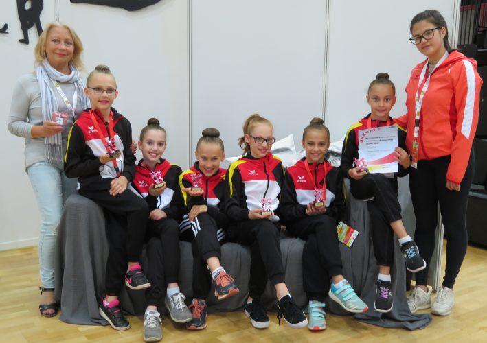 Gelungener Abschluss der Wettkampfsaison 2018 für die Saarbrücker Sportgymnastinnen