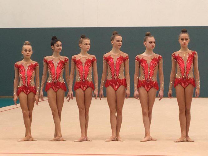 Fechinger Gymnastin erfolgreich mit Schmidener Gruppe