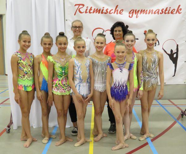 Medaillenregen für RSG-Mädels in den Niederlanden